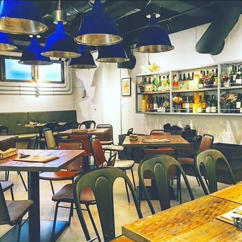 溝の口 vansan italian 店 kitchen