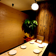 東梅田駅から徒歩3分、扉付きの完全個室有り♪
