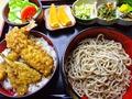 料理メニュー写真味わい天丼セット