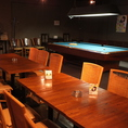 ◆貸切(最大80名様)ダーツ・カラオケ・ビリヤード。全ての空間を丸ごと貸切に♪各種設備もご用意しております!