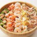 料理メニュー写真ハワイアン鉄板★コブサラダ