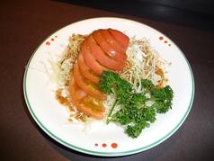 キャベツとトマトのサラダ