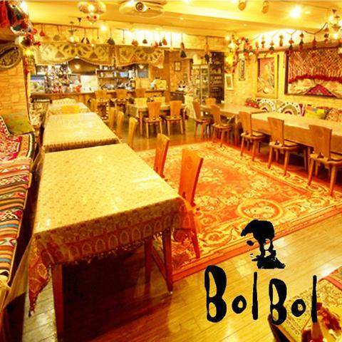 本場の雰囲気を味わえるペルシャ料理のお店!週末のベリーダンスショーも必見★