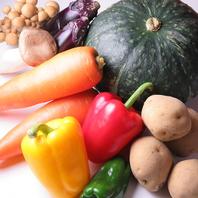 野菜は全国各地より新鮮なものを仕入れています!