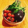 ≪月天洋はお野菜も新鮮!≫毎朝直送の新鮮野菜をお料理に使用しております!店長自らが旬の食材を仕入れているので、お肉やお魚はもちろん、お野菜も鮮度が第一!その時期に一番美味しい食べ方でご提供致します◎