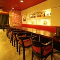 テーブルを繋げればご希望の人数へお席が早変わり♪お洒落なカジュアルイタリアン@渋谷