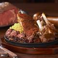 料理メニュー写真ローズ肉盛りプレート