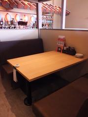 6名様用テーブルソファ席です!