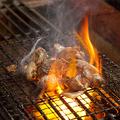 料理メニュー写真香鶏の炭火焼 1人前