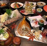 季節の旬の食材を使った料理の数々!