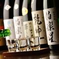 【地酒】コース[飲放]は地酒もOKの大盤振る舞い
