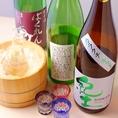 日本酒多数ございます