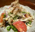 料理メニュー写真色々茸のシーザーサラダ/海鮮とアボカドのサラダ
