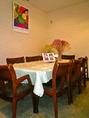 テーブル席8名席×1卓 ご家族やご友人と美味しい料理を囲んでお楽しみください♪