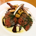 料理メニュー写真NZ産牧草牛 リザーブ ステーキ〈200g〉