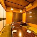 2階は座敷の宴会専用スペース