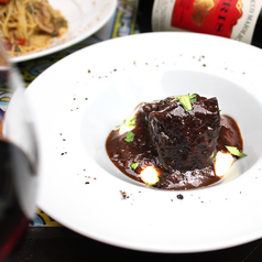 Stewed Beef cheek with Red wine sauce