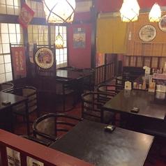テーブル席(4名から8名様)