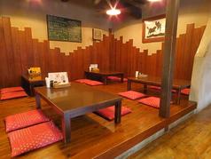 お座敷席もございますので、お子様連れの方も大歓迎!16名様までのご利用もできますので、お問い合わせください!