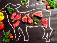 美味しいラム肉のマリアージュ lambの写真