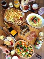 ご予算に応じた様々なお料理ご用意出来ます