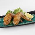 料理メニュー写真北海道産伊達産鶏の手羽先塩焼