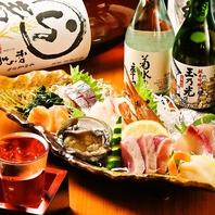 新鮮鮮魚と旨い地酒がウリ!!
