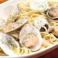 料理メニュー写真千葉県大原産地蛤のペペロンチーノ