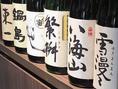 日本酒は10種類以上取り揃えております。