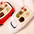 料理メニュー写真お子様パンチ(サイコロステーキSET・ハンバーグSET)