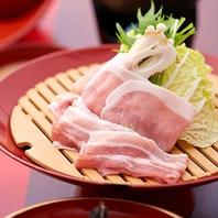 沖縄県産ブランド豚「紅豚」をご提供