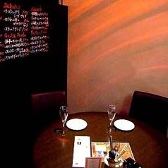 デートには雰囲気たっぷりのテーブル席♪