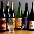 お料理に合う日本酒も豊富にご用意しております。
