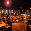 ◆テーブル広々空間を貸切に♪各種宴会に必要なモニター等設備も取り揃えております!お気軽にご相談ください♪