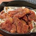 料理メニュー写真名物 鶏かわ焼き
