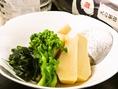 季節限定のお料理1例(春):若竹の土佐煮