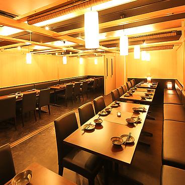 地鶏 和食 個室居酒屋 鶏彩 本厚木店の雰囲気1