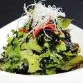 料理メニュー写真韓国海苔サラダ