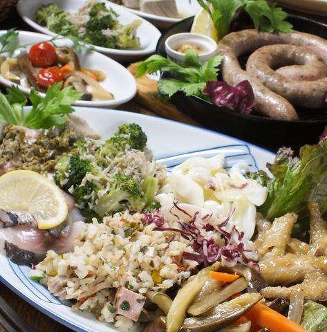 ボリューム満点、サルデーニャ島の郷土料理を堪能を堪能してください!