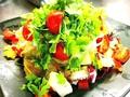 料理メニュー写真美容と健康に♪パクチーサラダ