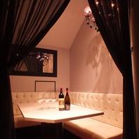 2~12名の個室宴会スペース完備!快適な船上パーティを!