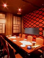 2部屋限定★完全個室!最大10名用個室!要予約の人気席!