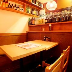 アットホームなテーブル席でランチからディナーまで楽しめます。忘年会におすすめ★