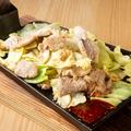 料理メニュー写真豚サガリのスタミナクワ焼き