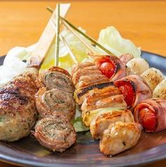 松山炭火焼鳥 鶏じのおすすめ料理1
