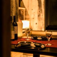 扉付き完全個室は親睦を深める宴会,飲み会にも◎