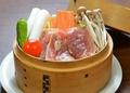 料理メニュー写真【春季限定1月~】会津が誇る約500年の歴史 『会津地鶏の蒸籠蒸し』
