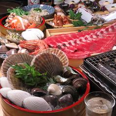 浜焼き 栄鮮魚のコース写真