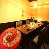 地鶏 和食 個室居酒屋 鶏彩 本厚木店の雰囲気3