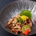 料理メニュー写真鹿児島県産 地鶏たたき